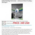 Cyber Trading University – Advanced Stock Trading Strategies